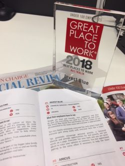Great place to work award 2018
