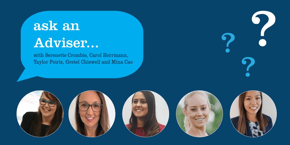Ask an Adviser – Closing the gap from women & finance