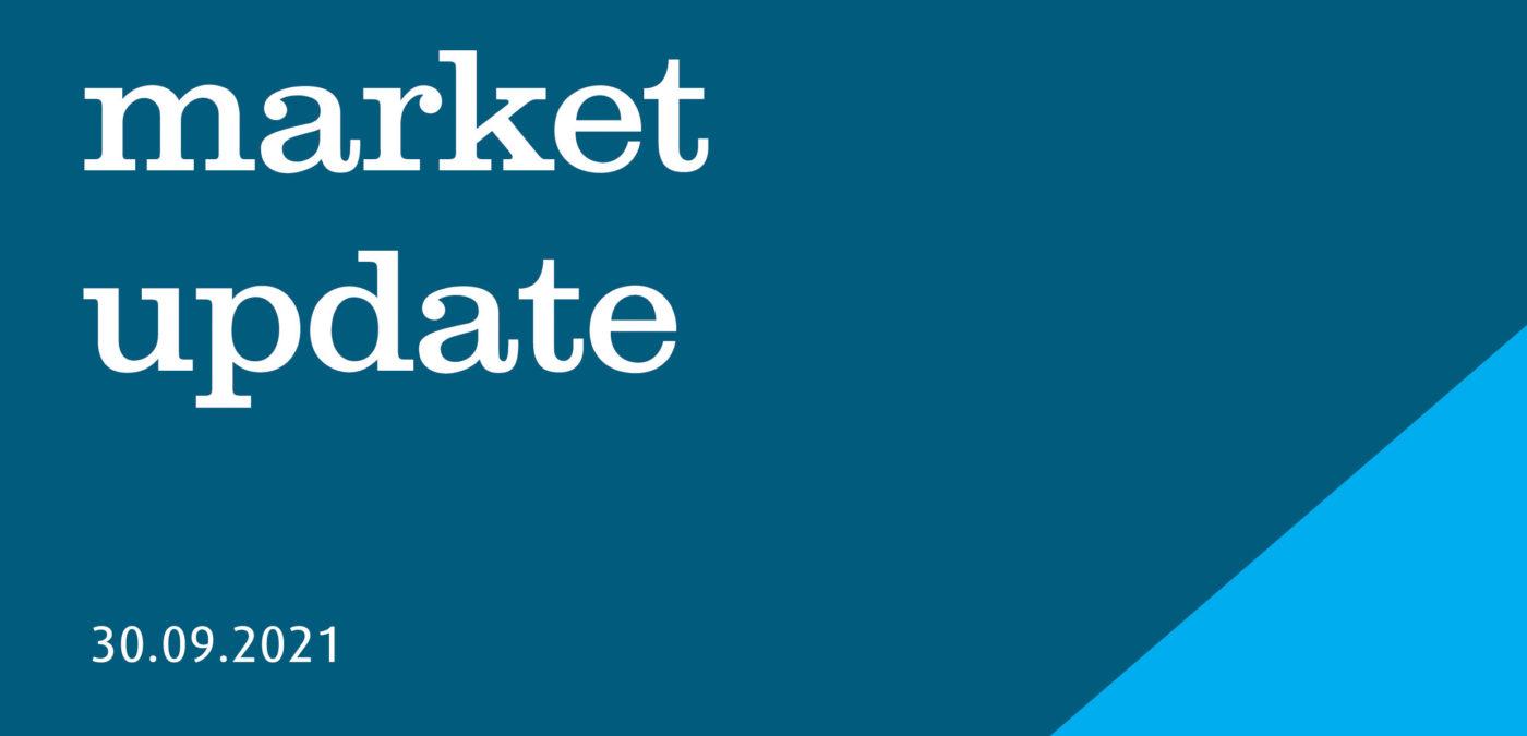 market update AMP header